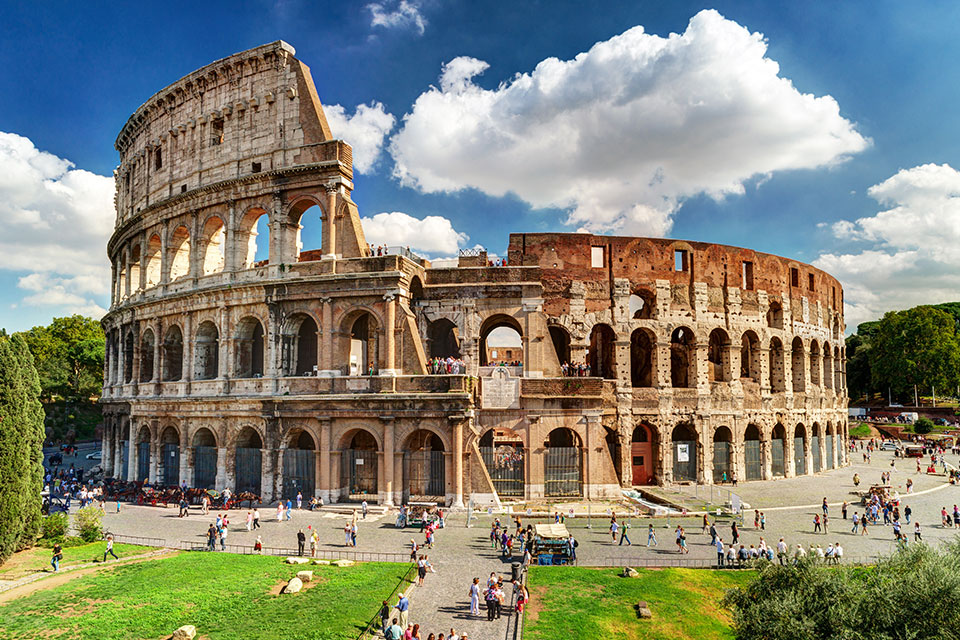 Italy - Colosseum, Rome